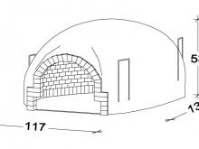 Recessed oven F100L