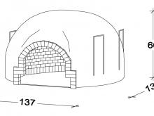 Recessed oven F120
