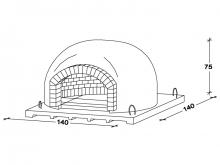 Recessed oven P120
