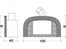 Front fume exit U010