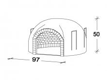 Horno encastrable F080